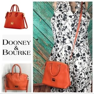 Dooney & Bourke Orange Dillen Crossbody Satchel